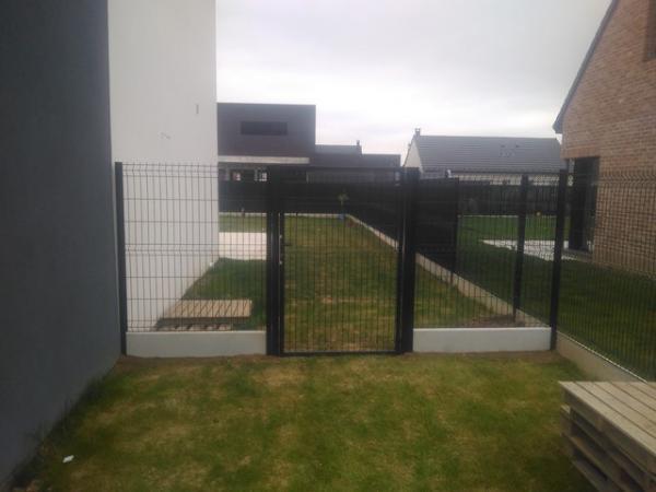 Cloture jardin panneau rigide | Lefredline