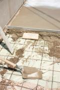 Construction ( ferraillage ) d'une terrasse en béton dans le Nord et le Pas de Calais