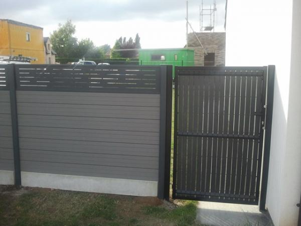 Cloture Composite Castorama. Cloture Jardin Composite Adulte Inoui ...